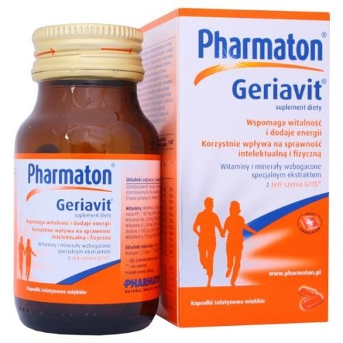 Pharmaton GERIAVIT x 100 kapsułek
