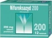 NIFUROKSAZYD 0,2 x 12 tabletek