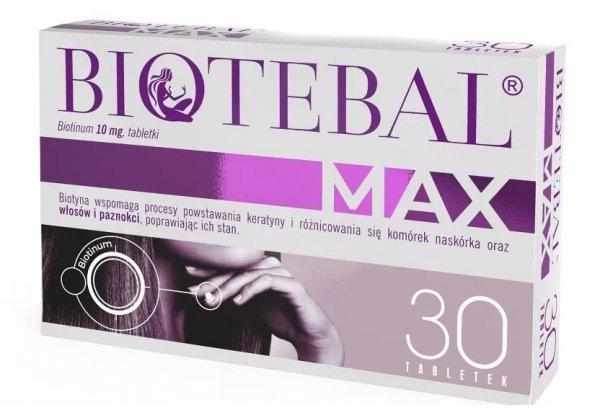 BIOTEBAL MAX 10mg 30 tabl.