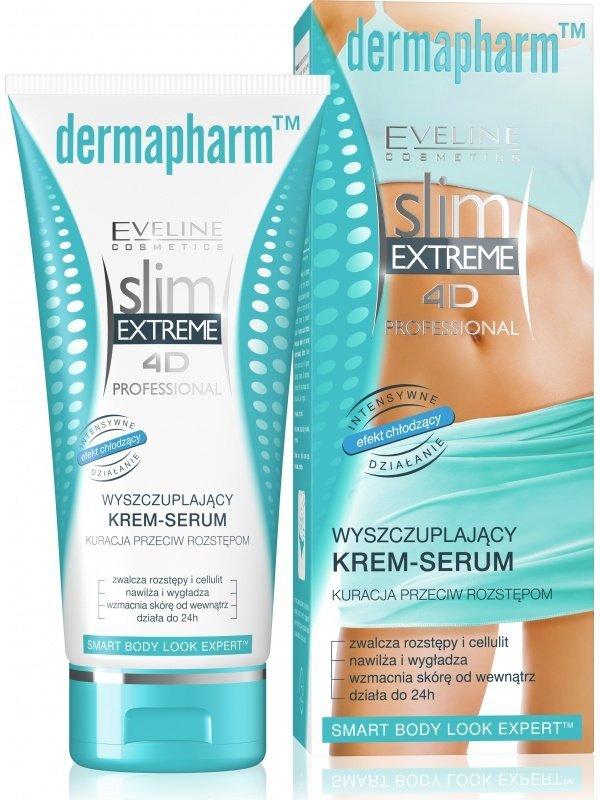 Eve Slim 4D Dermapharm wyszczuplający krem przeciw rozstępom