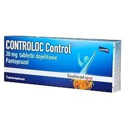 CONTROLOC Control 20mg x 14 tabl.