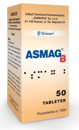 ASMAG B x 50 tabletek