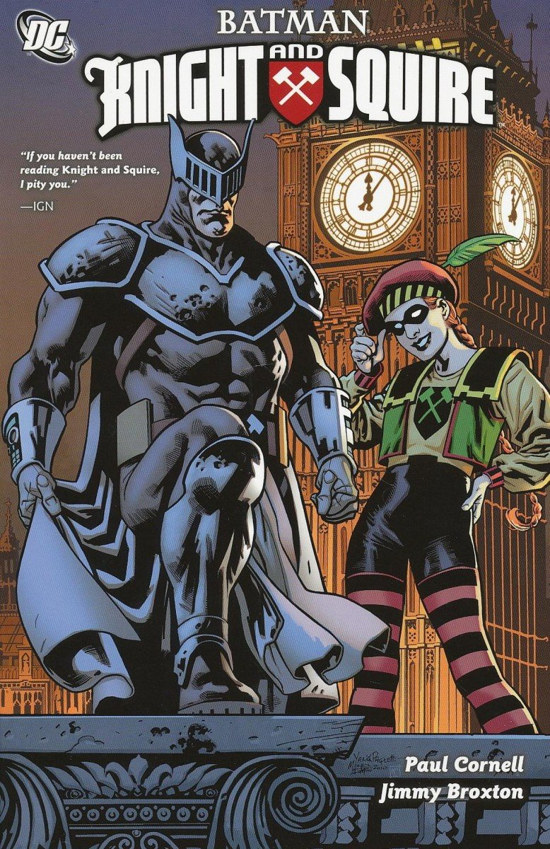 Batman Comic Book of 6 DC Knight and Squire #1