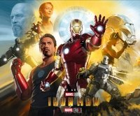ART OF IRON MAN 10TH ANNIV HC ED *