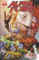ALPHA FLIGHT BY GREG PAK AND FRED VAN LENTE VOL 01 HC