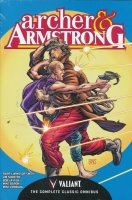ARCHER AND ARMSTRONG THE COMPLETE CLASSIC OMNIBUS HC (DELUXE)