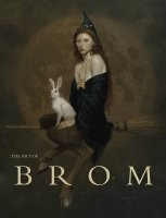 ART OF BROM PUBLISHER ED HC NEW PTG *