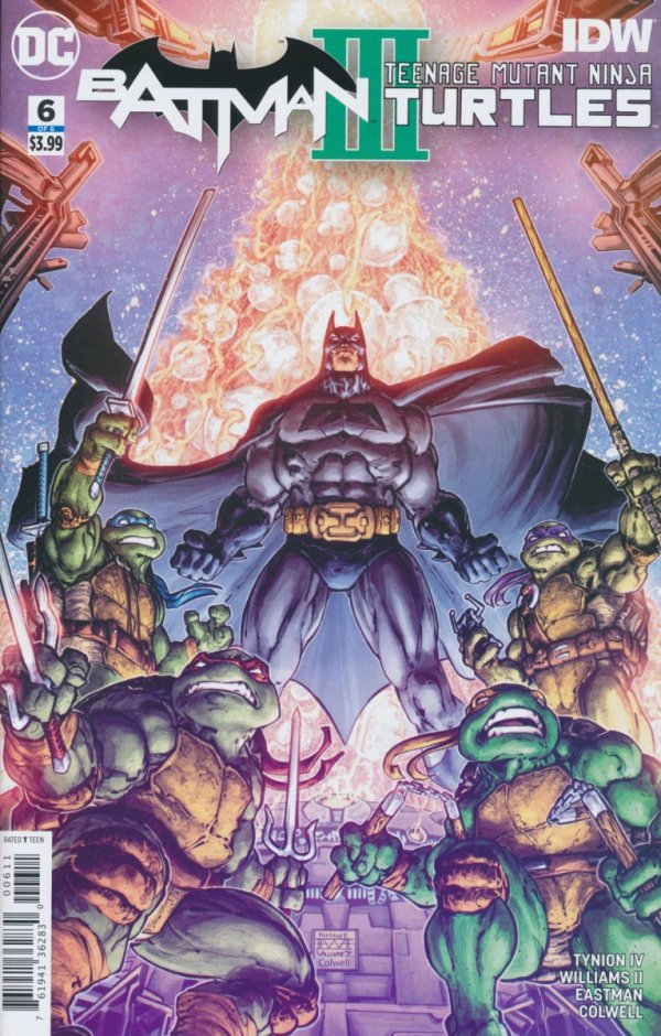 BATMAN TEENAGE MUTANT NINJA TURTLES III #6