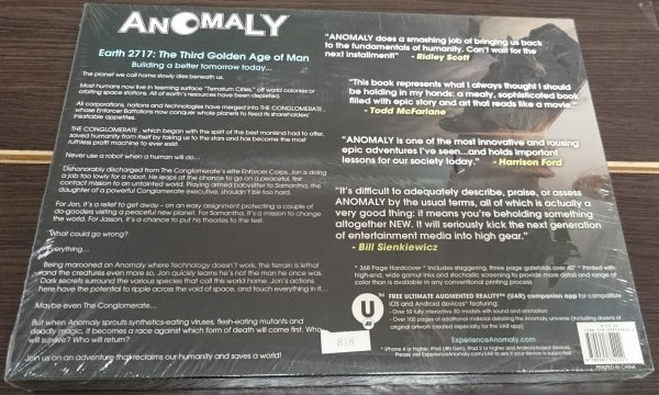 ANOMALY COLLECTORS EDITION HC (BOX) (SALEństwo)