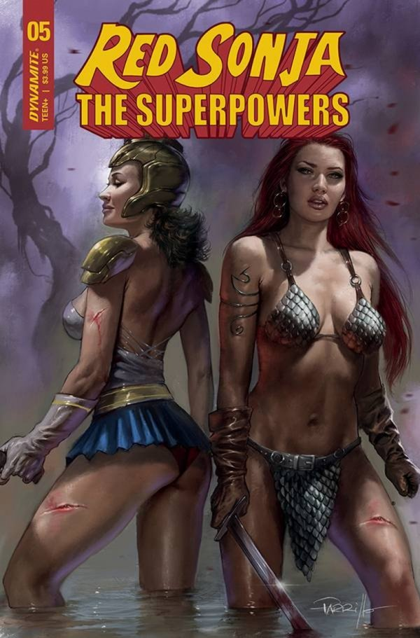 RED SONJA THE SUPERPOWERS #5 CVR A PARRILLO