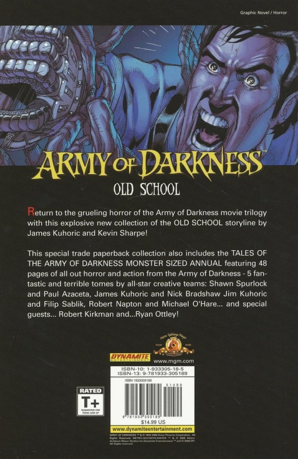 ARMY OF DARKNESS OLD SCHOOL SC