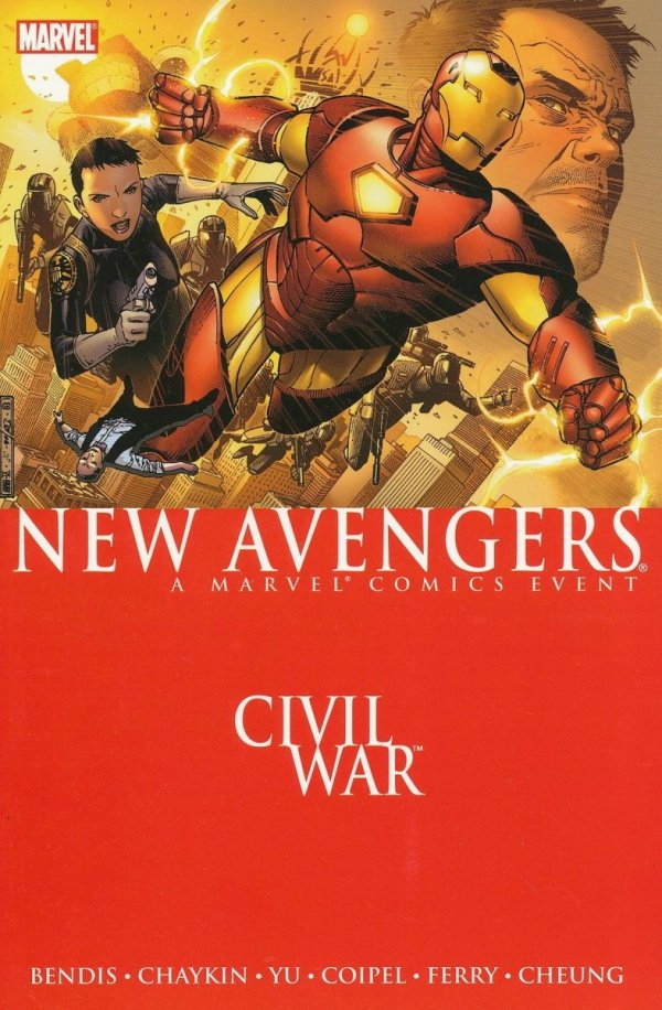 NEW AVENGERS VOL 05 CIVIL WAR SC