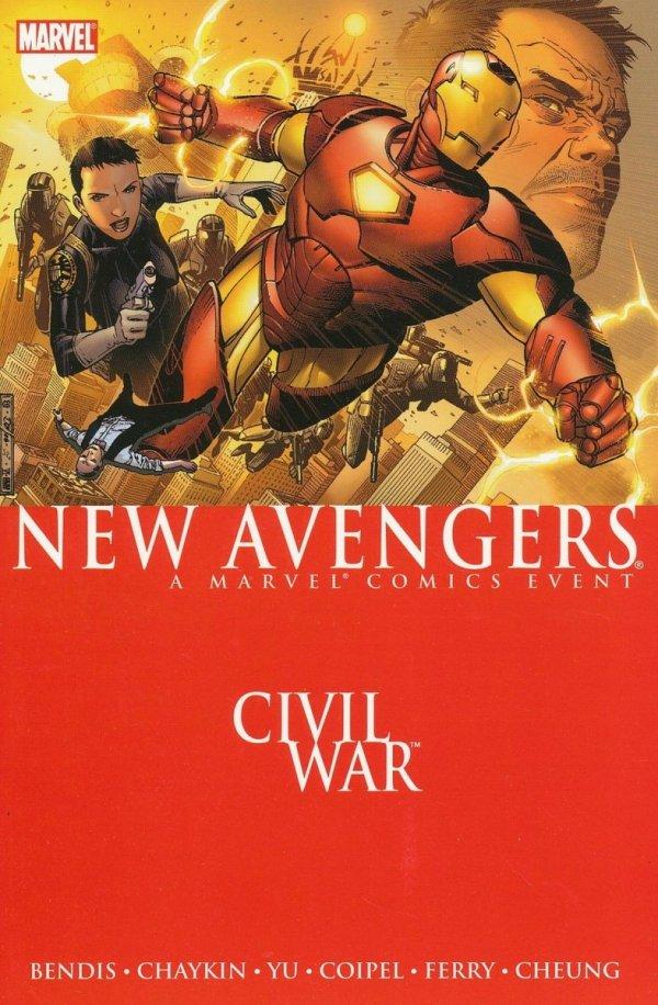NEW AVENGERS VOL 05 CIVIL WAR SC
