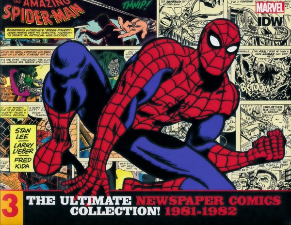 AMAZING SPIDER-MAN ULT NEWSPAPER COMICS HC VOL 03 1981-1982 *