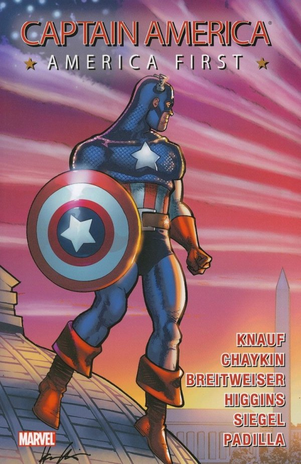CAPTAIN AMERICA TP AMERICA FIRST