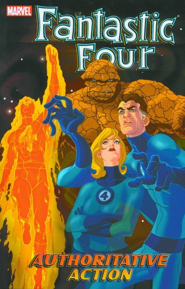 FANTASTIC FOUR VOL 03 AUTHORITATIVE ACTION SC *
