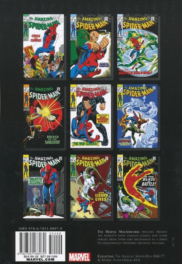 MARVEL MASTERWORKS THE AMAZING SPIDER-MAN VOL 08 SC (STANDARD COVER)