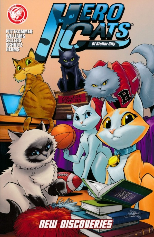 HERO CATS OF STELLAR CITY NEW DISCOVERIES SC