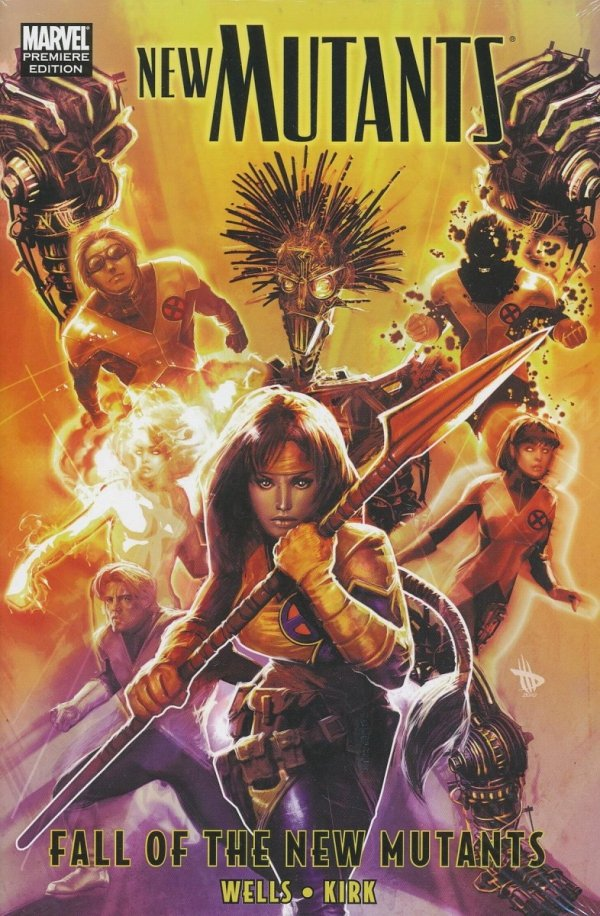 NEW MUTANTS FALL OF THE NEW MUTANTS HC