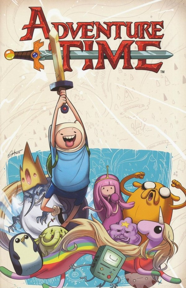 ADVENTURE TIME VOL 03 SC