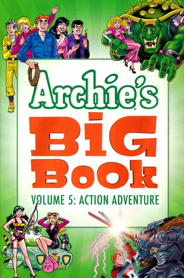 ARCHIES BIG BOOK VOL 05 ACTION ADVENTURE SC