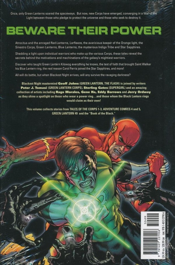 BLACKEST NIGHT TALES OF THE CORPS HC