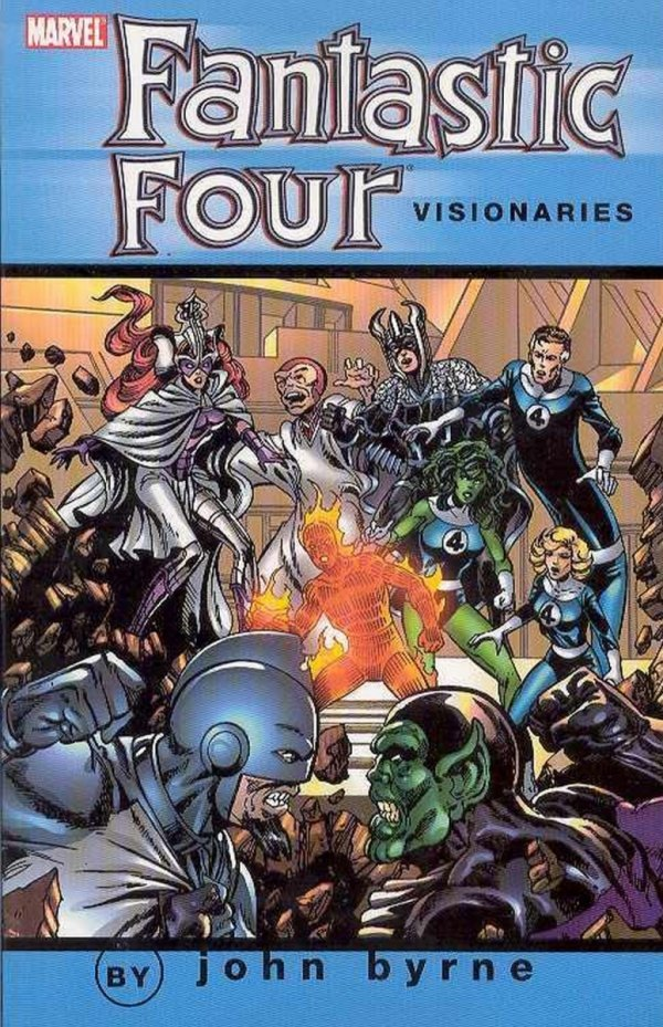 FANTASTIC FOUR VISIONARIES BYRNE VOL 05 SC *