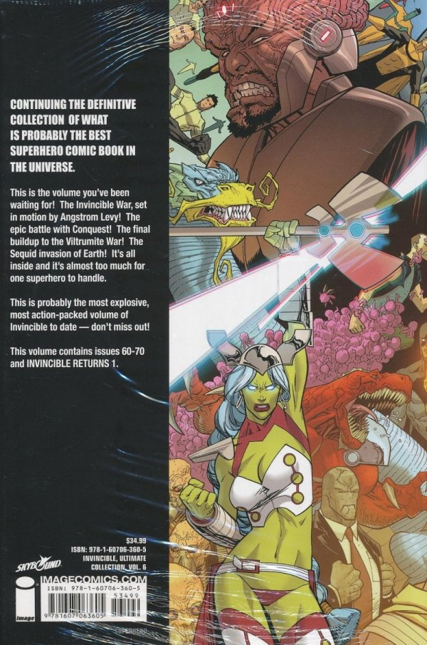 INVINCIBLE ULTIMATE COLLECTION VOL 06 HC