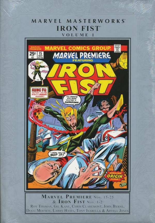 MARVEL MASTERWORKS IRON FIST VOL 01 HC (STANDARD COVER)