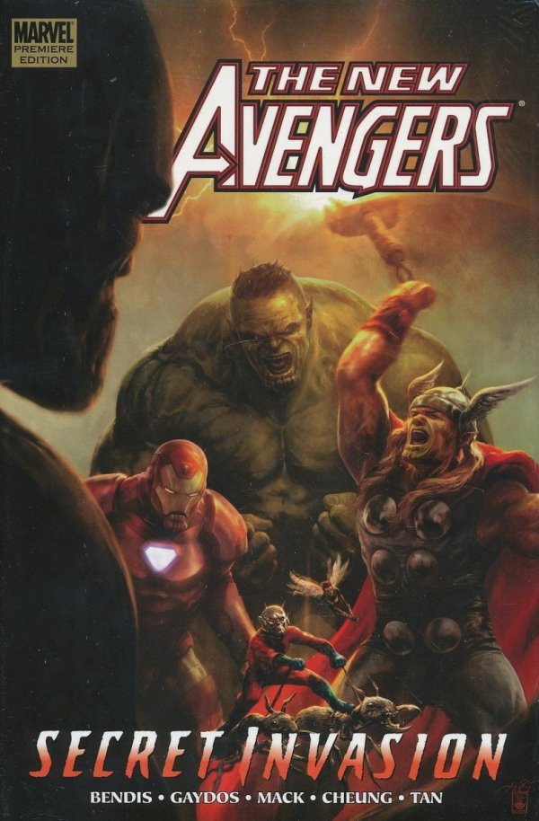 NEW AVENGERS VOL 08 SECRET INVASION BOOK 1 HC