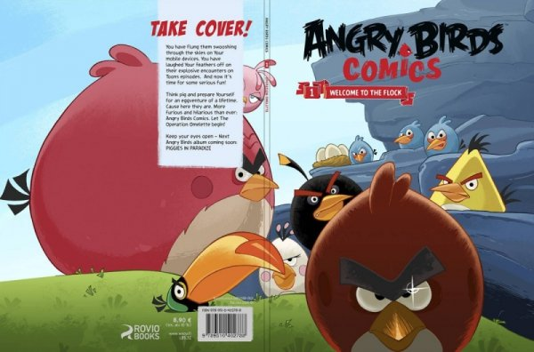 ANGRY BIRDS COMICS HC VOL 01 WELCOME TO THE FLOCK *