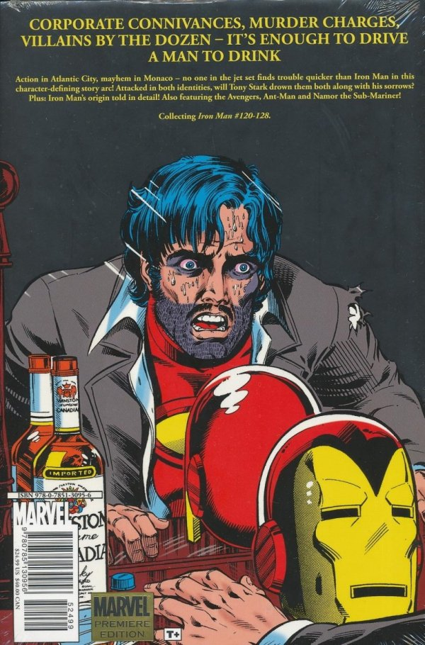 IRON MAN DEMON IN A BOTTLE HC (STANDARD COVER)