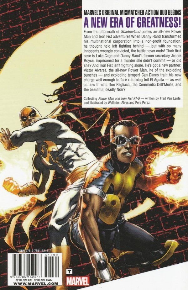 POWER MAN AND IRON FIST THE COMEDY OF DEATH SC