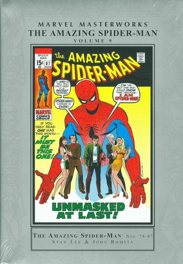 MARVEL MASTERWORKS THE AMAZING SPIDER-MAN VOL 09 HC (STANDARD COVER) *