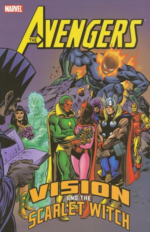 AVENGERS VISION AND THE SCARLET WITCH SC (OLD EDITION) *