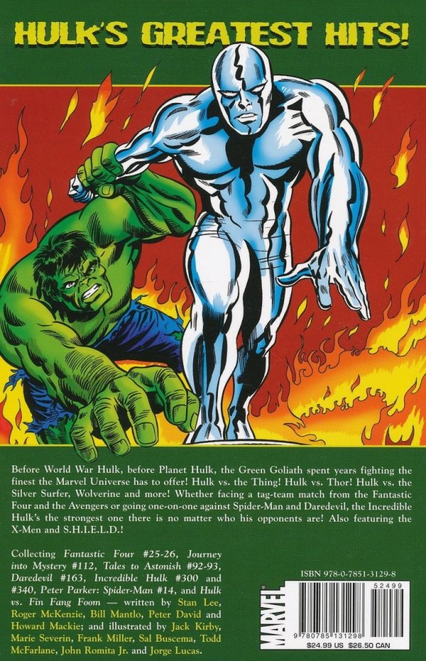 HULK VS THE MARVEL UNIVERSE SC
