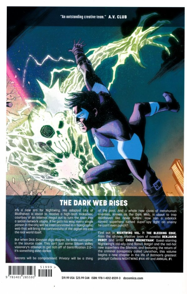 NIGHTWING VOL 07 THE BLEEDING EDGE SC