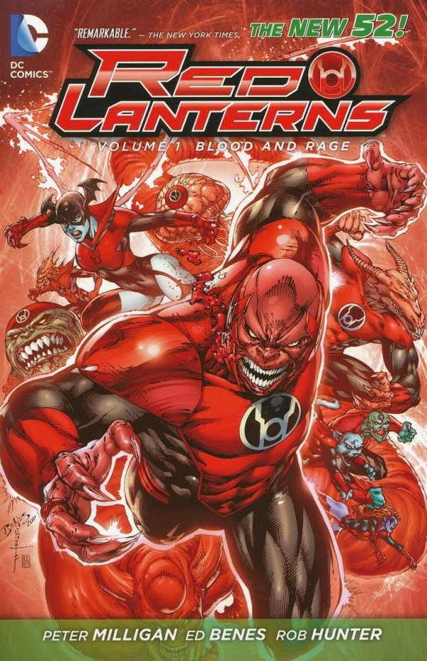 RED LANTERNS VOL 01 BLOOD AND RAGE SC