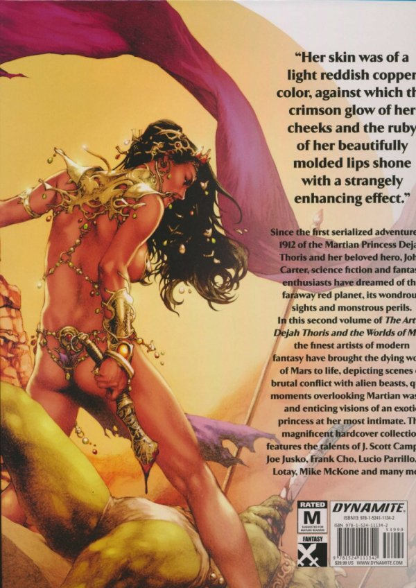 ART OF DEJAH THORIS AND THE WORLDS OF MARS VOL 02 HC