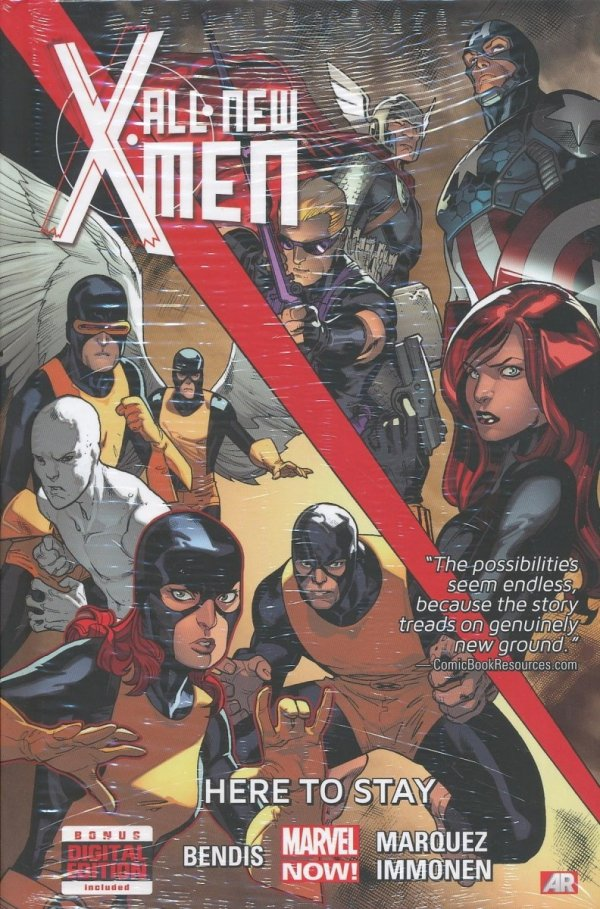 ALL-NEW X-MEN VOL 02 HERE TO STAY HC