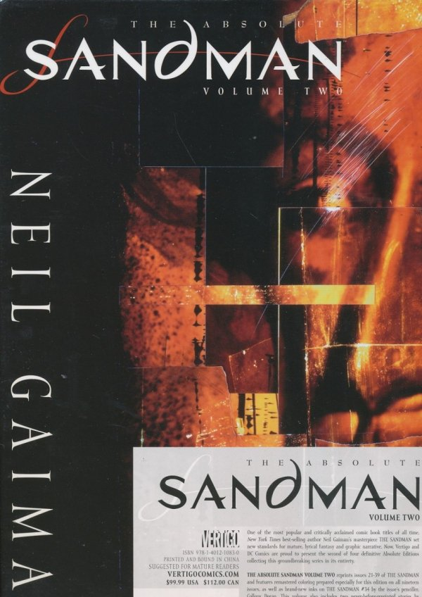 ABSOLUTE SANDMAN VOL 02 HC (BOX) (NEW EDITION)