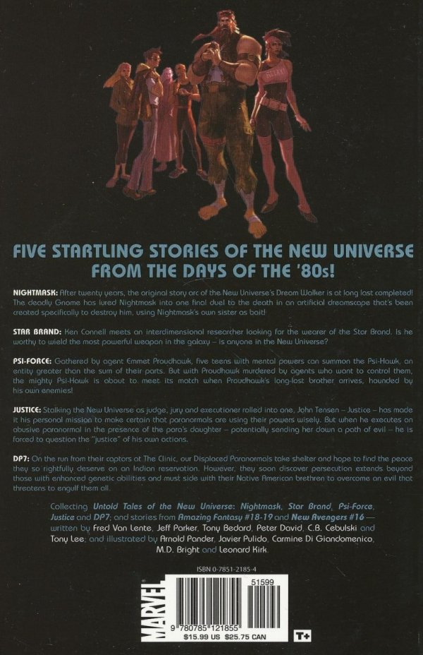 UNTOLD TALES OF THE NEW UNIVERSE TP