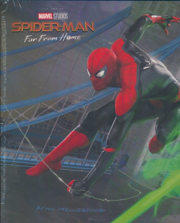 ART OF SPIDER-MAN FAR FROM HOME HC (BOX)
