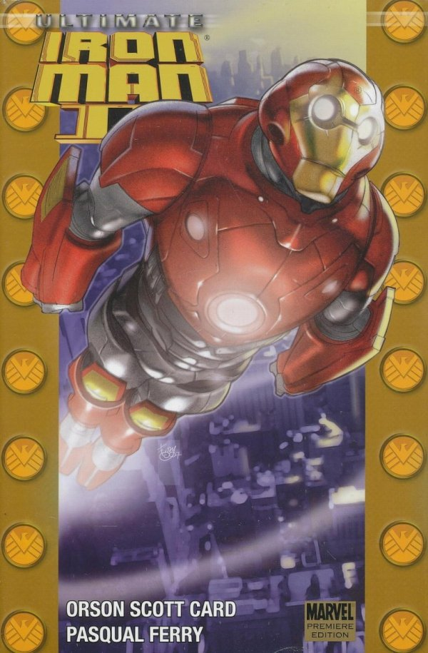 ULTIMATE IRON MAN II PREM HC DM ED