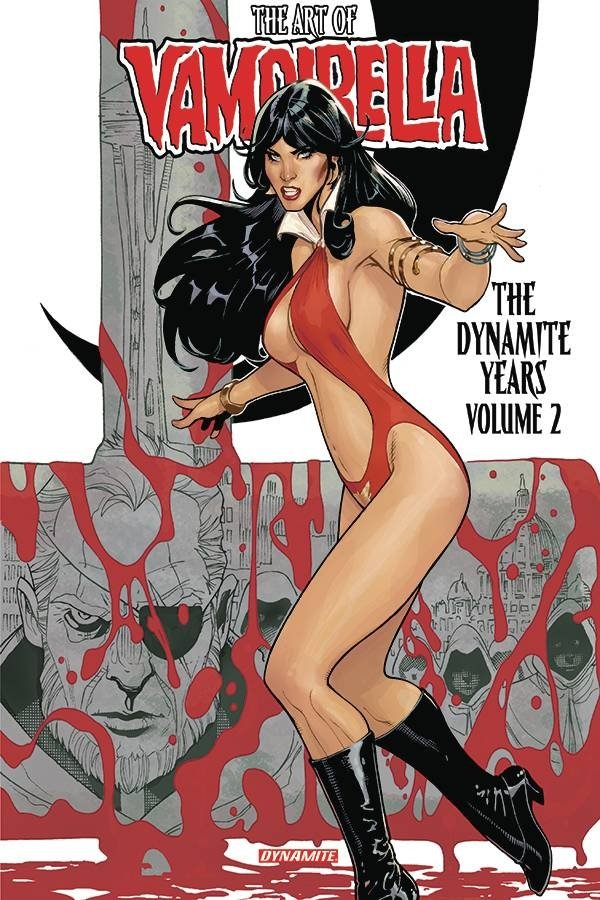 ART OF VAMPIRELLA DYNAMITE YEARS HC VOL 02 *