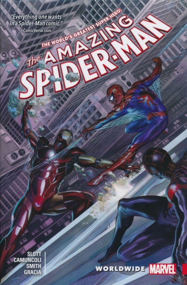 AMAZING SPIDER-MAN WORLDWIDE VOL 02 HC