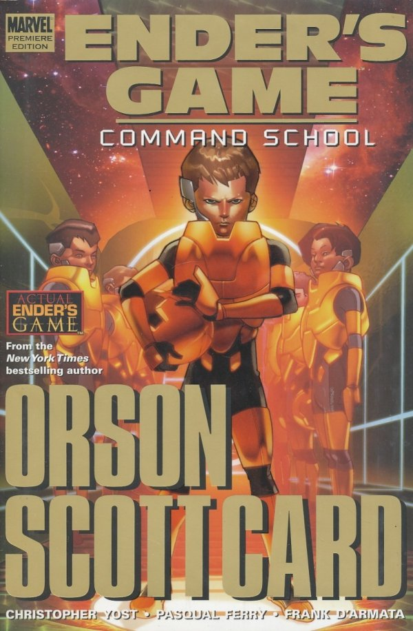 ENDERS GAME COMMAND SCHOOL PREM HC