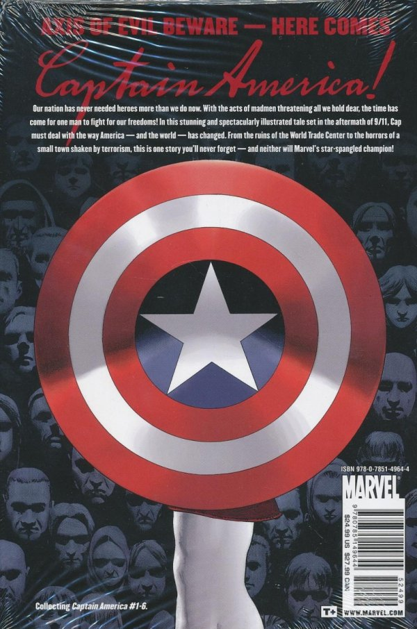 CAPTAIN AMERICA NEW DEAL PREMIERE HC
