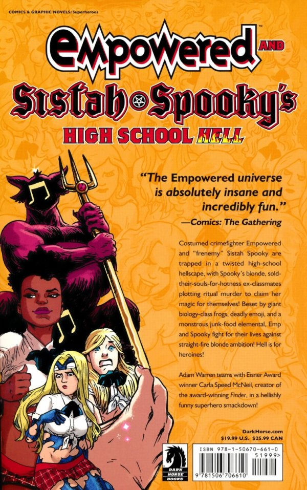 EMPOWERED AND SISTAH SPOOKYS HIGH SCHOOL HELL SC