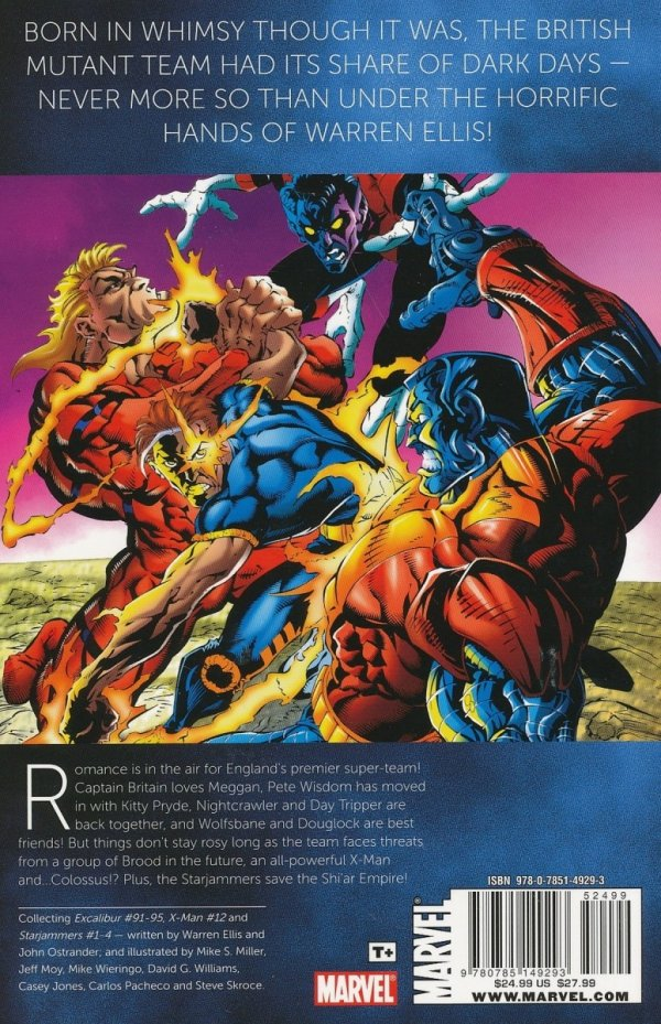 EXCALIBUR VISIONARIES WARREN ELLIS VOL 02 SC